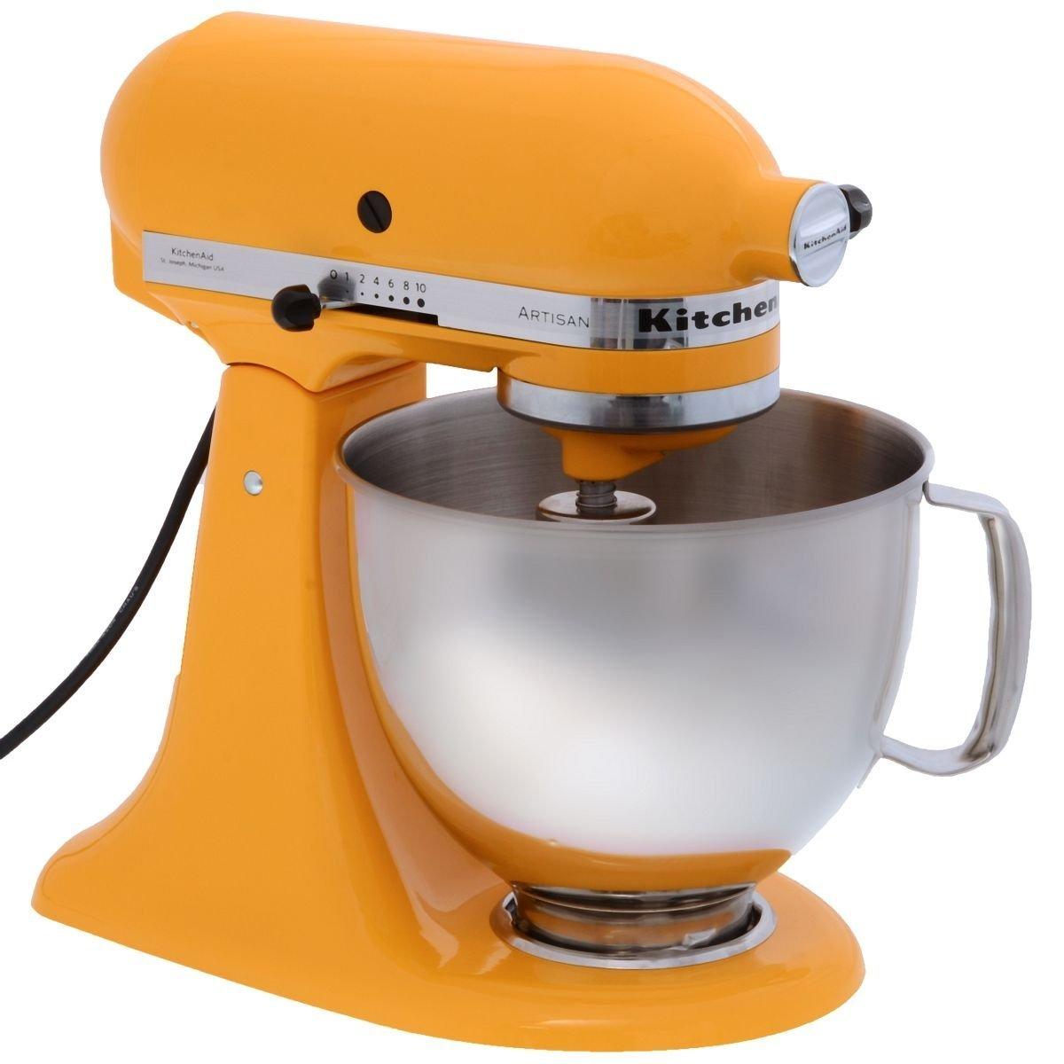 KitchenAid - Robot da cucina Artisan Giallo - Stilmobili - Life ...